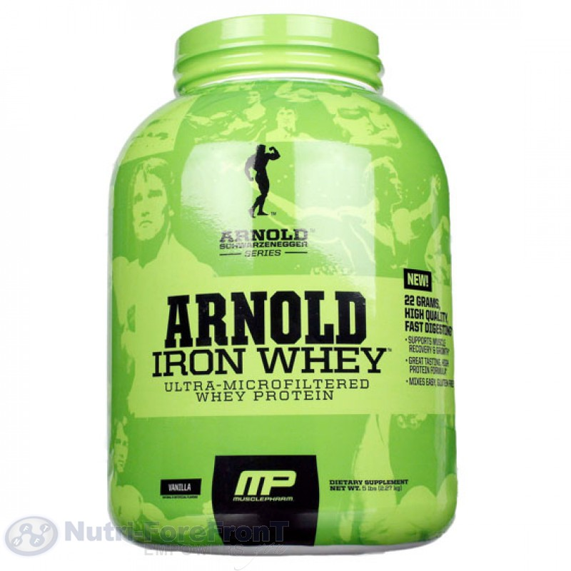 Arnold whey protein review
